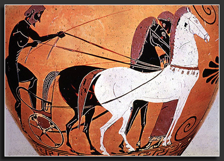 chariot race Ancient Greece